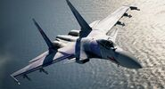 AC7 Su-37 Scarface Flyby 2