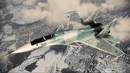 ACAH Su-37 Color 2 Flyby