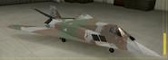 F-117A Mercenary color hangar