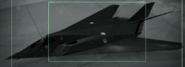 F-117A Razgriz color Hangar