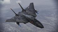 F-14A -Razgriz- flyby 1
