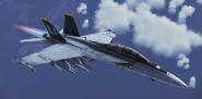FA-18F -Jolly Rogers- Flyby