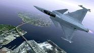 Gripen C ACX Flyby 2