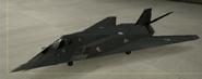 F-117A Standard color hangar