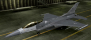 F-16C Standard color hangar