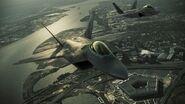 F-22s over pentagon