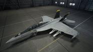 FA18F AC7 JollyRogers Hangar