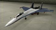 Su-27 Knight color hangar
