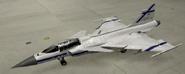 Gripen C Special color hangar