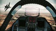 YF-23 Assault Horizon Cockpit 1