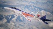 AC7 F-22A Phoenix Flyby