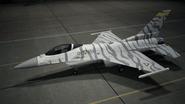 F16C AC7 Silber Hangar