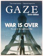 GAZE WAR IS OVER