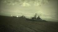 2nd Fleet Ships Firing