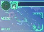 Ace Combat 3 HUD
