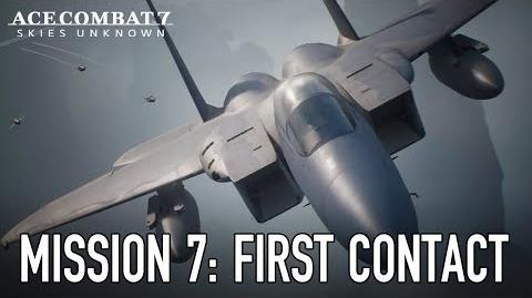 Ace Combat 7 Skies Unknown - PS4 XB1 PC - Mission 7 First Contact Gameplay