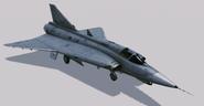 J35J Draken Hangar