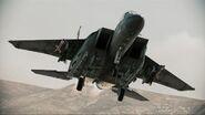 F-15E Strike Eagle AH Landing