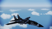 F-14A Normal Skin 01 Dark Gray Flyby