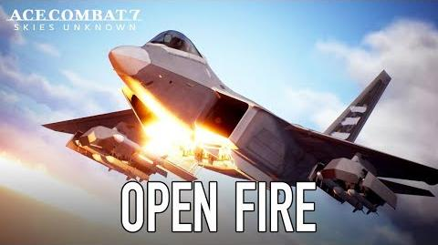 Ace Combat 7 Skies Unknown - Open Fire (Launch Trailer)