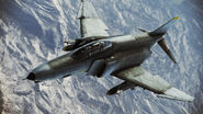 F-4E Phantom II Infinity Flyby