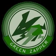 S GreenZapper Emblem