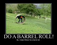 No, I mean REALLY do a barrel roll