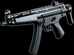 The MP5A5, used by the Bundeswehr during the Belkan War.