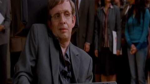 Stephen Hawking parody (superhero movie)