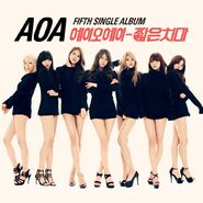 AOA Miniskirt single album cover