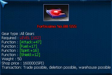 Fotissimo No.88 SSS