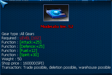 Moderato Ver. S2