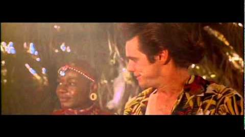 Ace Ventura When Nature Calls- Spitting Scene