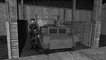Novourova Liberta soldier posing with a ZM.L-2/37