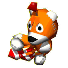 Tails doll As he appears in the racing game