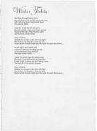 Winter Fields lyrics