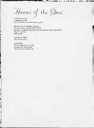 Horses of the Sun lyrics
