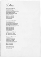 Lilies lyrics