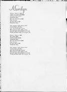Marilyn lyrics