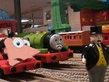 Thomas vs. Ferb