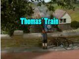 Thomas' Train (T'AWS&A Version)/Transcript