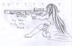 Phoenixia's big gun.