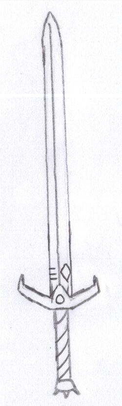 Sword form.