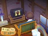 Alien on the TV