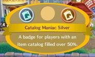 Catalog Maniac Silver