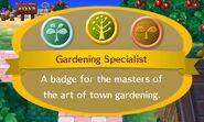 Gardening Specialist