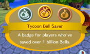 Tycoon Bell Saver