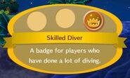 Skilled Diver