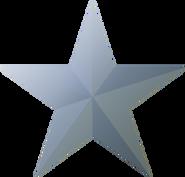 Silver star icon