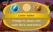 Letter Author